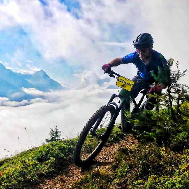 official in use @swiss_epic #alps #mountains #swissalps #swissmountains #switzerland #graubünden #engadin #engadinstmoritz @stmoritz #mountainbike #mtbswitzerland #mtbenduro #enduromtb #emtb #swisscyclingguide #ridewithguide #marczauggbike #wearebikebox #lifebehindbars #behindthescenes #mzbike #inhouse #swissepic @bikebox.ch #august2021