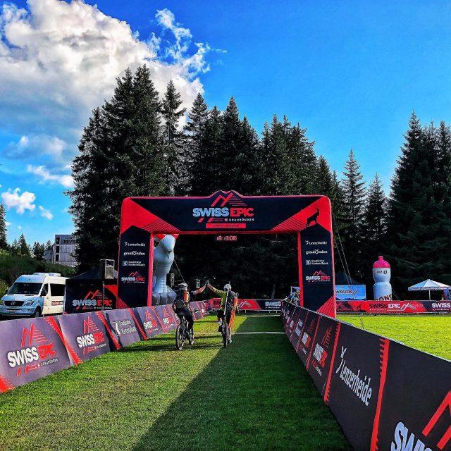 'You all did an amazing job!' #swissepic #swissepic2019 #teamwork #graubünden #davosklosters #lenzerheide #conquerthealps #mtb #mountainbike #mountainbiking #mountainbikeracing #stagerace #sweep #rideandclean #switzerland #engadin #swisscycling #ridewithguide #marczauggbike #august2019 . @swiss_epic