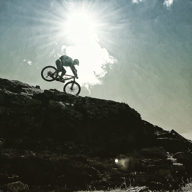 nose down playground in the #alps #mountains #swissalps #swissmountains #switzerland #valais #wallis #ridevs #mtb #mountainbike #mtbswitzerland #mtbenduro #enduromtb #santacruz #santacruzbikes #santacruzbikeswitzerland #swisscycling #ridewithguide #marczauggbike #lifebehindbars #wallisgimpft  #october2019 #nature #sun #rocknroll #nosewheelie 📸 @_cla_ud_ia_