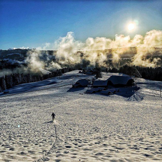 pow flow in the snow ❄️ #mountains #swisshills #swissmountains #switzerland #bern #emmental #ridebe #mtb #mountainbike #mtbswitzerland #mtbenduro #specialized #levo #lovelevovelo #swisscycling #ridewithguide #marczauggbike #lifebehindbars #winter #wonderland  #december2019 #pow #snowflow