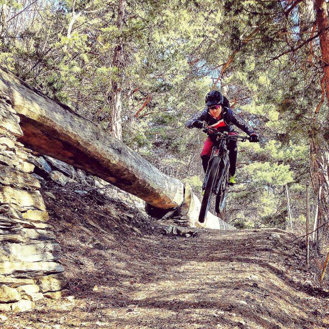 on the flight to monaco... #viaalpina #alps #mountains #swissalps #swissmountains #switzerland #valais #wallis #ridevs #mtb #mountainbike #mtbswitzerland #mtbenduro #enduromtb #jump #swisscycling #ridewithguide #marczauggbike #lifebehindbars #wallisgimpft #suone #wcrollentrails #february2020 #nature #shot #by @singletrailtoni #thx